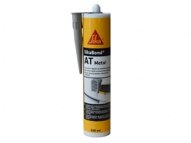 Adeziv pentru lipirea metalelor Sika Sikabond AT Metal light grey 300ml