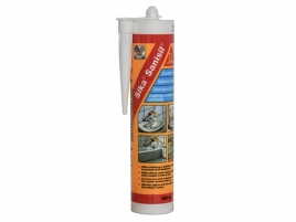 Sigilant siliconic pentru aplicatii sanitare Sika Sanisil, alb, 300ml